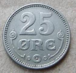 Coin > 25ore, 1920-1922 - Denmark  - reverse
