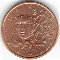 Moneta > 1centesimo, 1999-2018 - Francia  - reverse