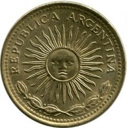 Moneta > 5pesai, 1976-1977 - Argentina  - obverse