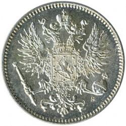 Moneta > 50penniä, 1864-1917 - Finlandia  - reverse