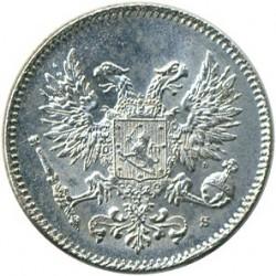 Moneta > 50penniä, 1917 - Finlandia  (Eagle w/o crown) - reverse