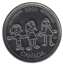 العملة > 25 سنت, 1999 - كندا  (September 1999, Canada Through a Child's Eye) - reverse
