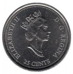 Coin > 25cents, 2000 - Canada  (Wisdom) - obverse