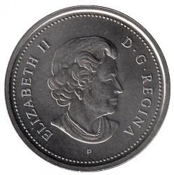 Moneda > 25centavos, 2005 - Canadá  (Año del Veterano en Canadà) - obverse
