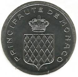 Moneta > 1santimas, 1995 - Monakas  - obverse