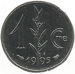 Moneta > 1santimas, 1995 - Monakas  - reverse
