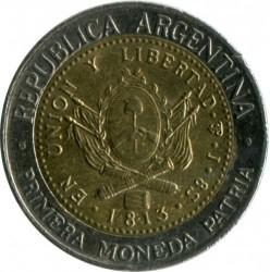 Moneda > 1peso, 1994-2016 - Argentina  - reverse
