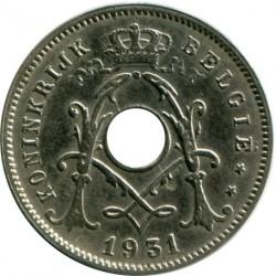 Moeda > 5cêntimos, 1930-1931 - Bélgica  - obverse