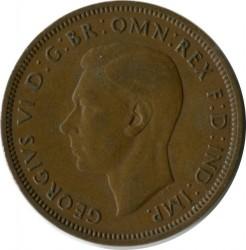 錢幣 > ½便士, 1948 - 英國  - reverse