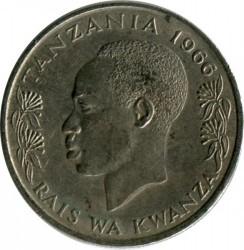 Moneta > 50senti, 1966-1984 - Tanzania  - obverse