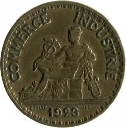 Pièce > 2francs, 1920-1927 - France  - reverse