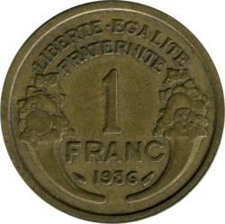 Pièce > 1franc, 1931-1941 - France  - obverse