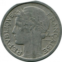 Coin > 1 franc, 1947 - France  - reverse