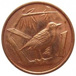 Coin > 1cent, 1999-2017 - Cayman Islands  - reverse
