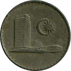 Coin > 10sen, 1967-1988 - Malaysia  - reverse