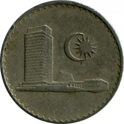 Монета > 10сенов, 1967-1988 - Малайзия  - reverse