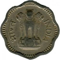 Mynt > 10nyepaise, 1958-1963 - India  - obverse