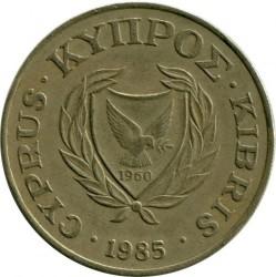 Pièce > 20cents, 1985-1988 - Chypre  - obverse