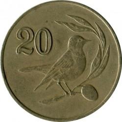 Pièce > 20cents, 1985-1988 - Chypre  - reverse