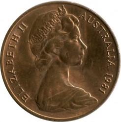 Кованица > 2цента, 1966-1984 - Аустралија  - reverse