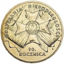 Moneda > 2zlote, 2008 - Polonia  (90 aniversario - Independencia de Polonia) - reverse