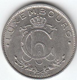Luksemburg 1 Frank 1924 1935 Km 35 Katalog Monet