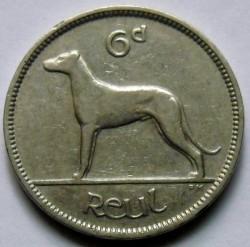 العملة > 6بنس, 1939-1940 - ايرلندا  - reverse