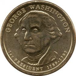 Moneta > 1doleris, 2007 - JAV  (President of the USA - George Washington (1789-1797)) - obverse