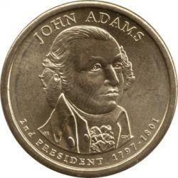 Münze > 1Dollar, 2007 - USA  (President of the USA - John Adams (1797-1801)) - obverse