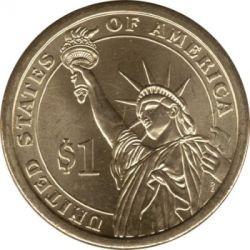 Münze > 1Dollar, 2007 - USA  (President of the USA - John Adams (1797-1801)) - reverse