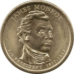 Coin > 1 dollar, 2008 - USA  (President of the USA - James Monroe (1817-1825)) - obverse