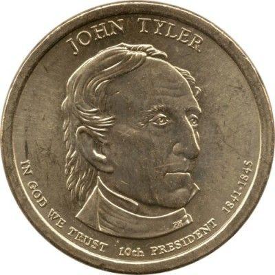 1 Dollar 2009 John Tyler 1841 1845 Usa Münzen Wert Ucoinnet