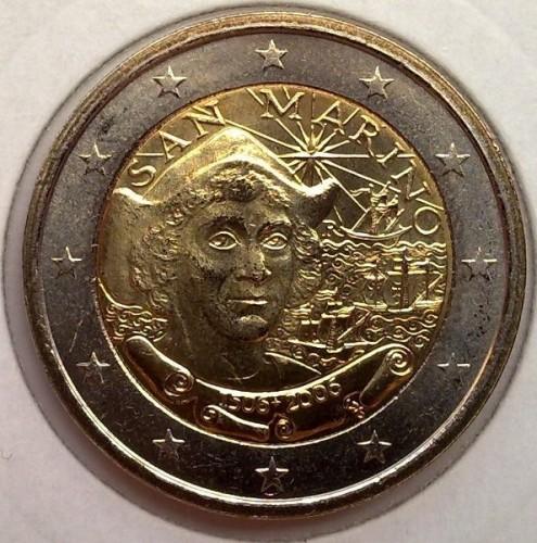 2 Euro 2006 Christoph Kolumbus San Marino Münzen Wert Ucoinnet