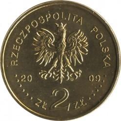 Монета > 2злоти, 2009 - Полша  (65th Anniversary - Liquidation of the Lodz Ghetto) - reverse