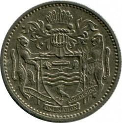 Minca > 10cents, 1987 - Guyana  - obverse