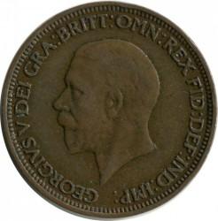 Moeda > ½pence, 1930 - Reino Unido  - obverse