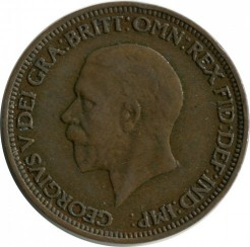 Moeda > ½pence, 1930 - Reino Unido  - reverse