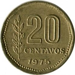 Pièce > 20centavos, 1970-1976 - Argentine  - reverse