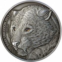 Монета > 5000франков, 2013 - Буркина Фасо  (Детёныш смилодона) - reverse