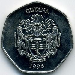 Монета > 10доларів, 1996-2018 - Гайана  - reverse