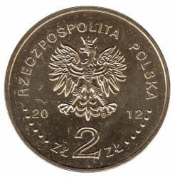 "Moneda > 2zlote, 2012 - Polonia  (Polish Ships – Light Cruiser ""Dragon"") - obverse"