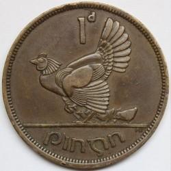 سکه > 1پنی, 1940-1968 - ایرلند  - obverse