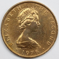 Монета > 1пенні, 1976-1979 - Острів Мен  - obverse