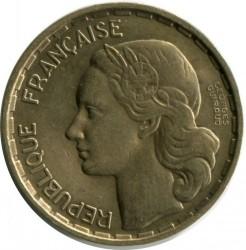 Монета > 20франка, 1950 - Франция  (Signature 'GEORGES GUIRAUD' in two lines) - obverse