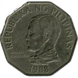 Mynt > 2piso, 1988 - Filippinene  - obverse