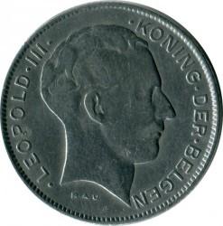 Munt > 5francs, 1941-1946 - Belgie  (Legend in Dutch - 'DER BELGEN') - obverse