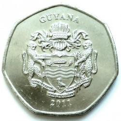 Монета > 10долларов, 2011 - Гайана  - obverse