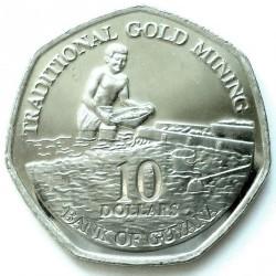 Монета > 10долларов, 2011 - Гайана  - reverse