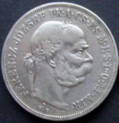 Монета > 5крон, 1900-1909 - Венгрия  - obverse