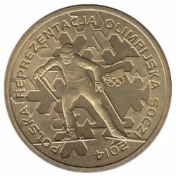 Münze > 2Złote, 2014 - Polen  (Polish Olympic Team - Sochi 2014) - reverse
